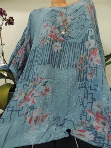 Damen Bluse Größe 56 58 60 62 Übergröße Übergrößen Tunika Blusen T Shirt 72