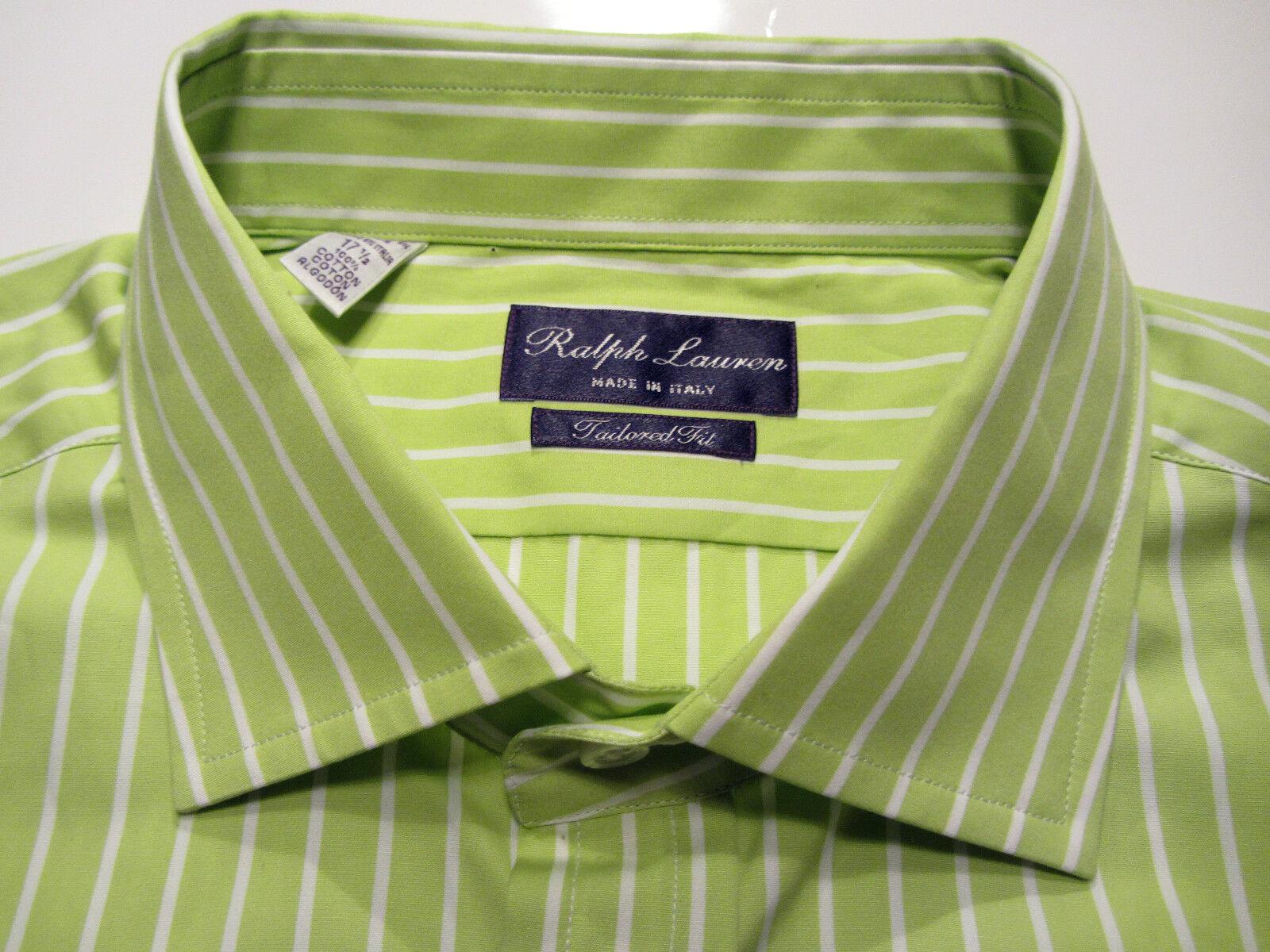 Ralph Lauren lila label 43-44 17,5/XL NICHT ALLTÄGLICHE FARBE     9278