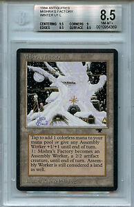 MTG Antiquities Mishra's Factory Winter BGS 8.5 NM-MT+ Magic Card Amricons 4369