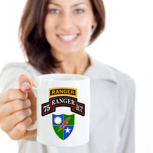Army Ranger Coffee Mug - 75th RGT