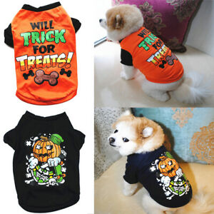 Halloween-Printed-Small-Dog-Clothes-Pet-T-Shirt-Vest-Dog-Cat-Apparel-Costume