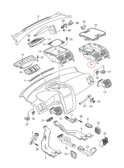 gto grille inserts wiring diagram database 1966 GTO Wiring-Diagram original vw golf v air jet centre heater panel black 1k0819728h 1qb 68 gto grille gto grille inserts