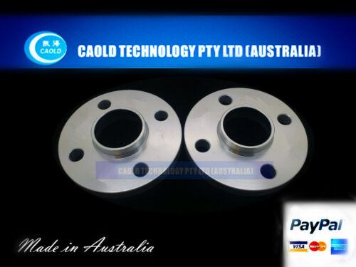Wheel Slip On Spacers 15 mm 4x100 59.1 mm Hub Centric 2PCS