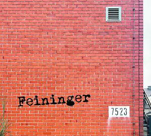 """Feininger """"7523"""" (Album auf CD)"""