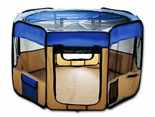 PlayPen For Pets Small Dog Cat Rabbit Water Resistan Washable Pen Kennel