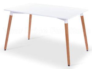 Eiffel-White-Designer-Dining-Table-120cms-Rectangular-Wood-Legs-Art-Deco
