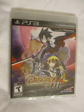 Disgaea 4: A Promise Unforgotten PS3 (PlayStation 3) Brand New, Sealed~