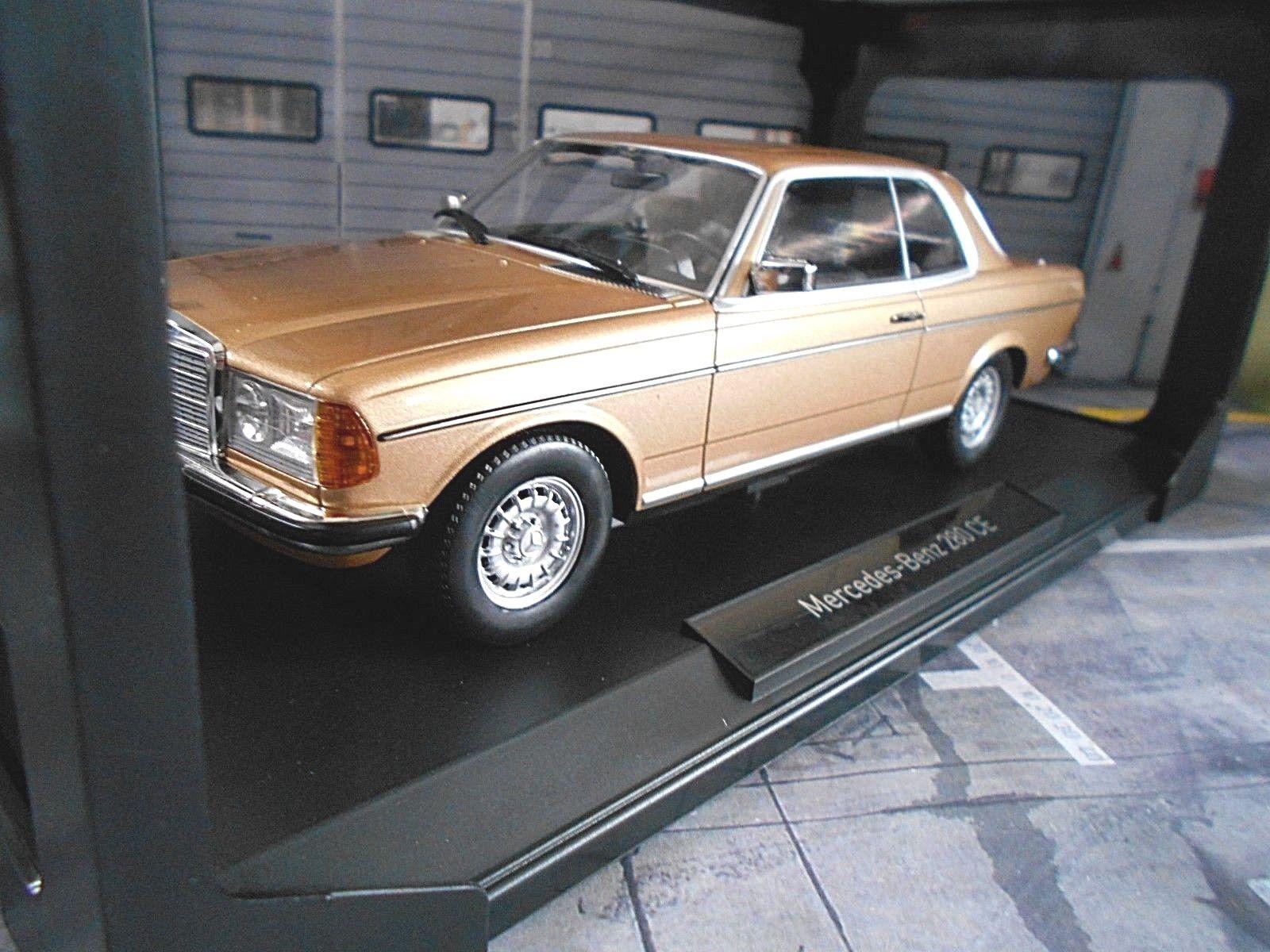 MERCEDES W123 Coupe 280 C123 E klasse gold golden golden golden 1977 - 1982 Norev RAR 1 18 a4f991