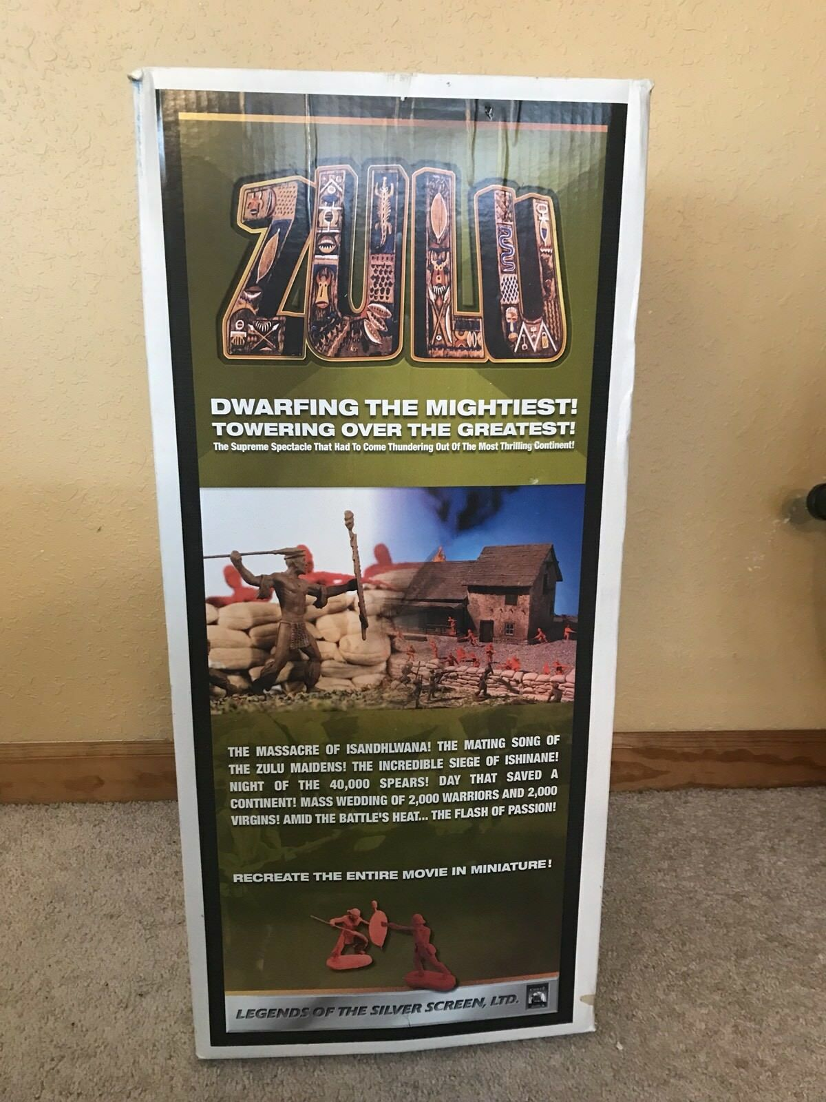 Conte Collectibles The Hospital Zulu Playset Limited Edition  Advanced Proof