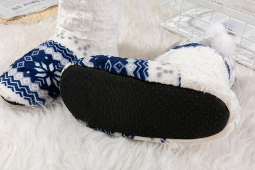 Indoor Shoes Winter Warm Slippers Home Plush Shoes Men Women Boots House Slipper