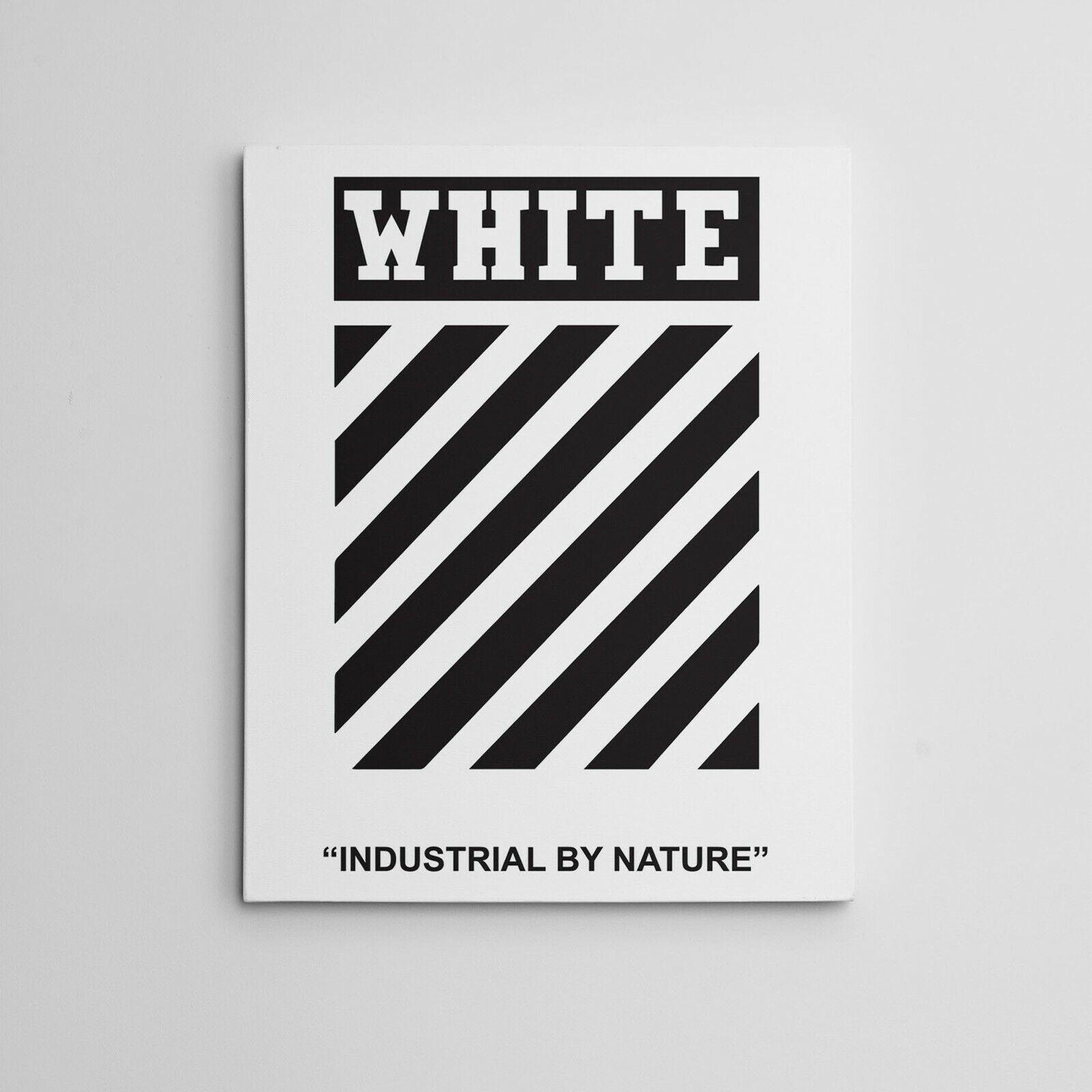 off white canvas