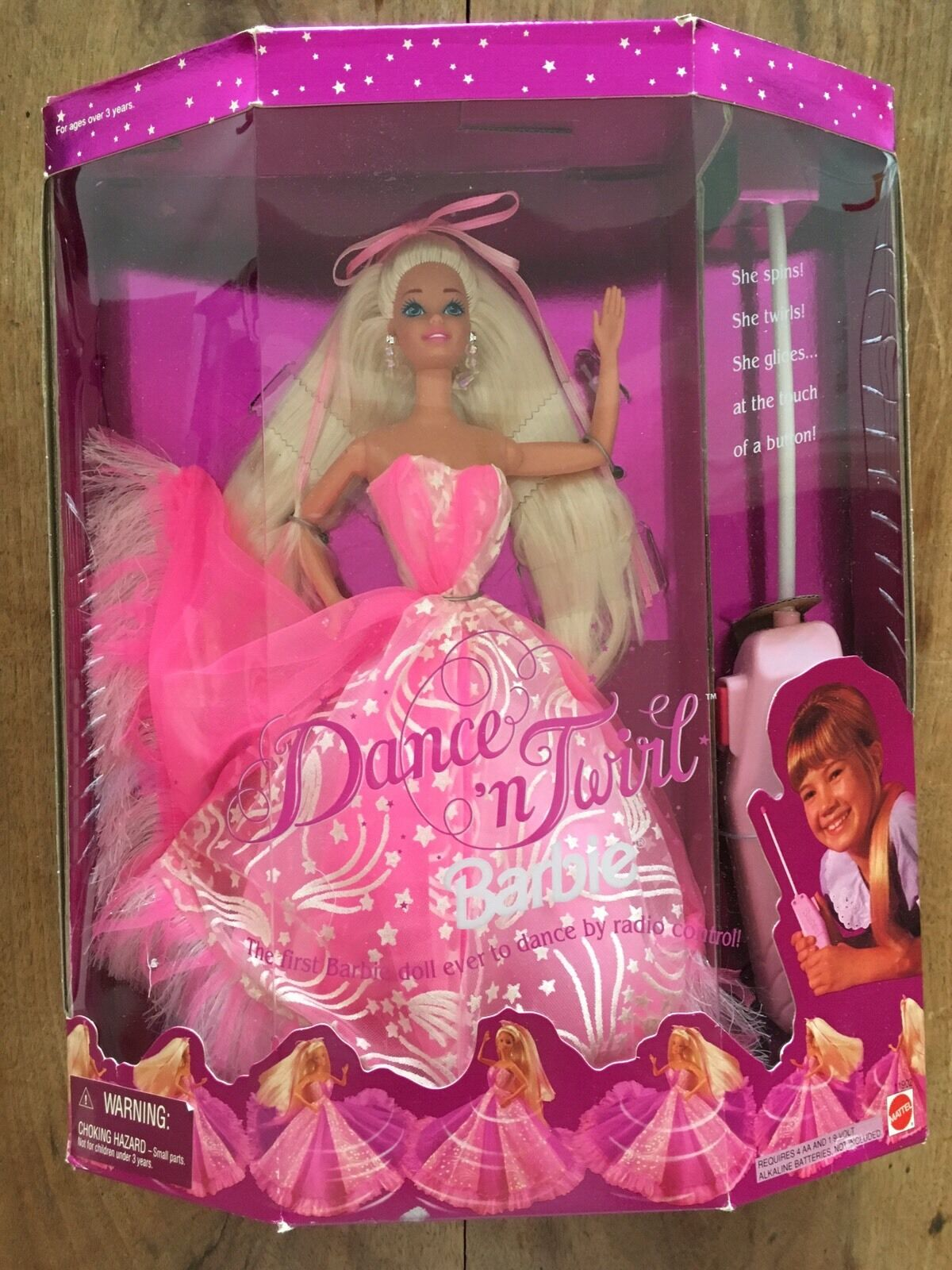 Barbie   DANCE'n TWIRL   1994 NRFB