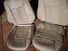 Mercedes Benz W210 chasis E class 2000-02 JAVA Front leather factory seat covers
