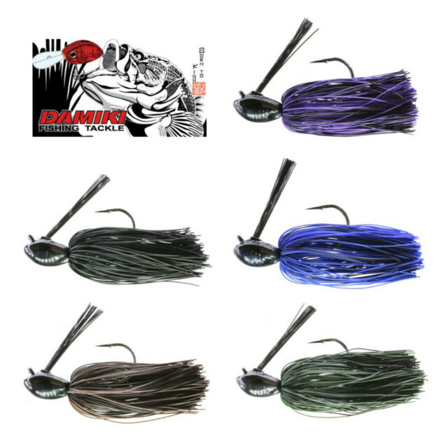 Damiki Charade Jig 3/4 Oz (1 Pack) Various Colors Bass Fishing Lure Bait
