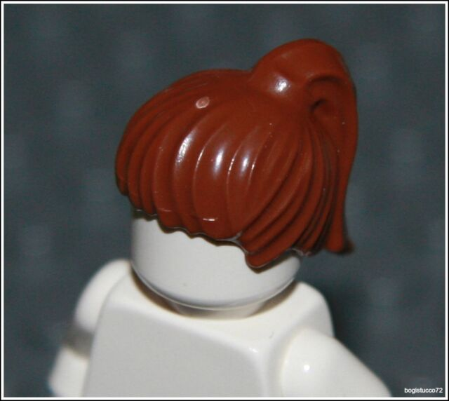 Lego Batman x1 Brown Ponytail Hair City Bangs Child Female Girl Minifigure NEW