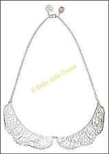 *-30%* BE CHIC bijoux COLLANA Colletto Romantic Lace colore argento no Sodini