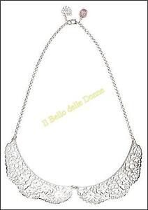 30% BE CHIC bijoux NECKLACE Collar Romantic Lace silver no Sodini