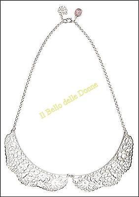 *-30/%* BE CHIC bijoux COLLANA Colletto Romantic Lace colore argento no Sodini
