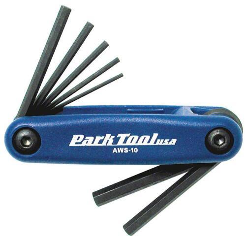 Park Tool AWS-10 Metric Folding Hex Wrench Set