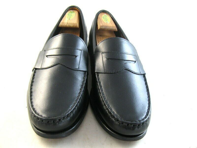 Allen Edmonds  CAVANAUGH  Mocassins 10.5 E NOIR (1132)