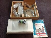 Brand New Nintendo Wii U Black 32GB Console & Cables ONLY Manufacturers Warranty