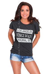 informal-camiseta-con-lentejuelas-con-cremalleras-la-Top-Estampado