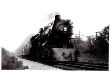 LL519 RP 1940/90s? CMStP&P MILWAUKEE RAILROAD ENGINE #133 NORTHBROOK IL AT SPEED