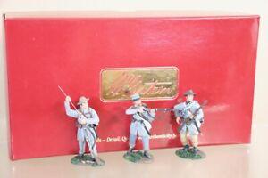 Britains-17936-Americain-Guerre-Civile-Confedere-Infanterie-Tir-Ligne-Set-Nu