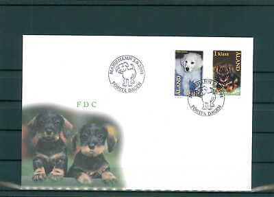 200997 Schrumpffrei Aland Fdc Aus 2001 Siehe Beschreibung