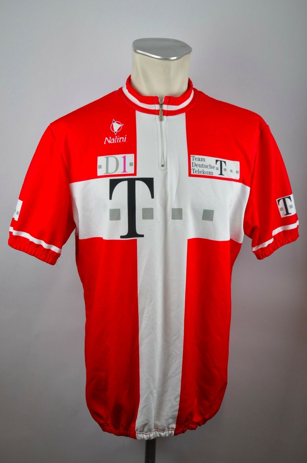 Team Deutsche Telekom rotes Radtrikot Trikot cycling jersey Gr 8 XXL BW 62cm CA1  | Online