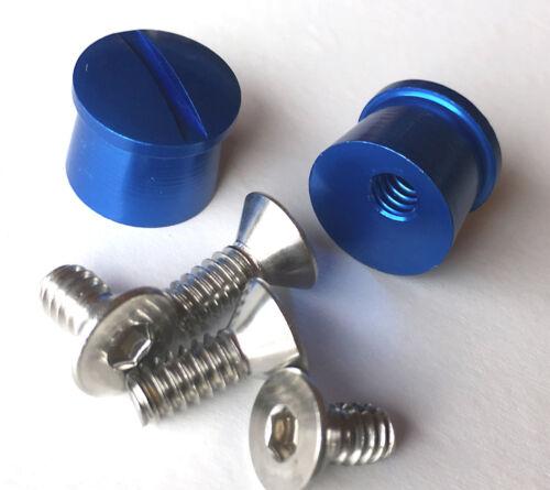 Tear Off Posts Shield Visor tearoff tear-off Buttons Aluminum IMCA USRA UMP USMT