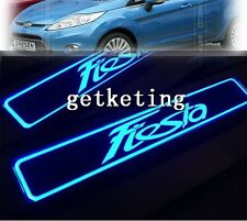 ENTRY LED DOOR SILL SCUFF PLATE PANEL LED ILLUMINATED For FORD FIESTA 2009-2013
