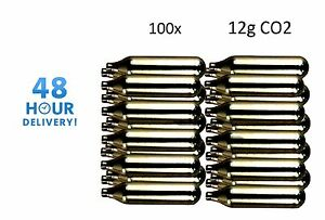 100-x-12g-Co2-Gas-Capsule-Cartridge-Air-Rifle-Pistol-Gun-Airgun-12-Gram