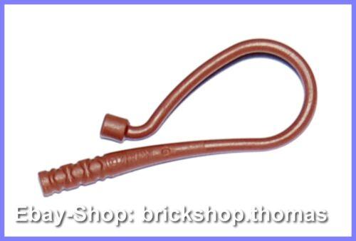 88704 NEU // NEW Weapon Whip Bent Reddish Brown Lego Peitsche braun