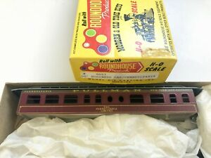 Roundhouse-HO-Scale-Train-5067-50-039-Business-Car-Pennsylvania-Limited-Made-in-USA