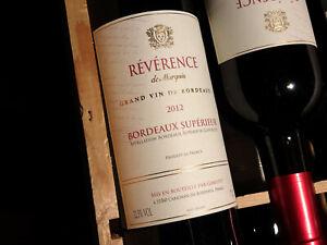 Nur-1-Tag-Laufzeit-12-Flaschen-2012er-Reverence-de-Marquis-Bordeaux-Superieur