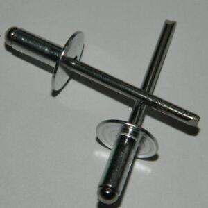 Bechernieten 4,8x16  Alu//Stahl Dichtnieten  Sonderangebot xx 1000 Stk