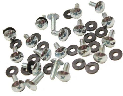 X1 MTA2 Body Panel Screw set 20  6mm thread screws /& grommet washer MTA1 X7