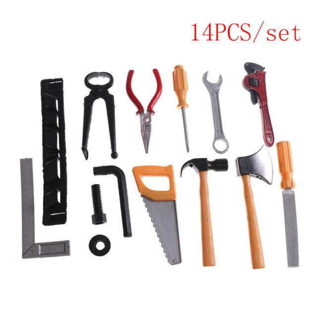 6Pcs Kids Children Plastic Building Tool Kits Educational DIY Construction Toy