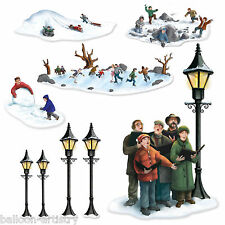 Christmas Wonderland Scene Setter Add on CAROLERS & FUN