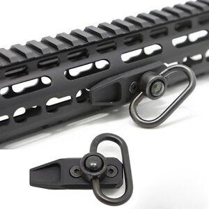 Tactical Key Mod Modular QD Sling Swivel Base Mount KeyMod Rail Attachment #1