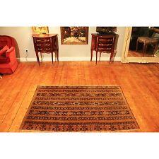 Antik hecha Orient alfombra URSS Turkman jomut old Rug Carpet 175x112cm