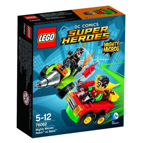 LEGO DC Comics Super Heroes Mighty Micros Robin vs Bane 76062SCARCE TOYS