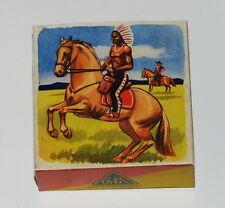 Reprobox für das Köhler Pferd mit Cowboy bzw. Indianer - Made in US-Zone Germany