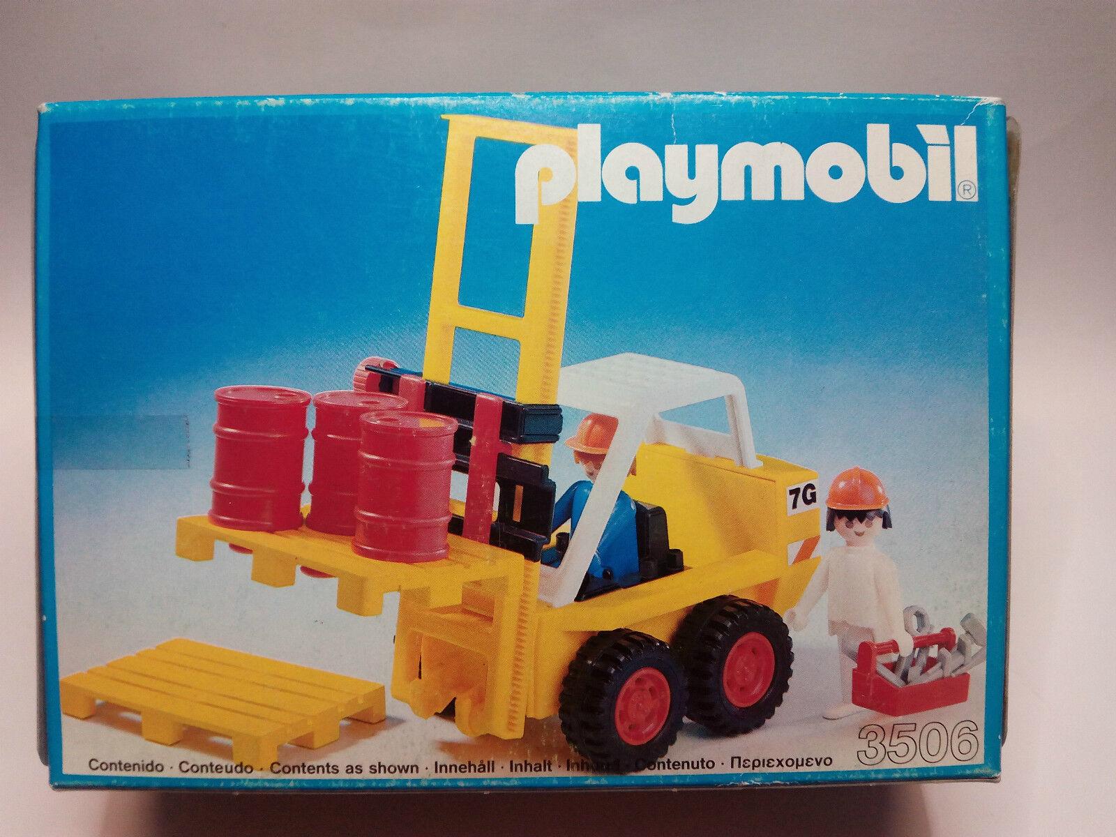 PLAYMOBIL 3506 Carretilla elevadora   NUEVO -  SEALED
