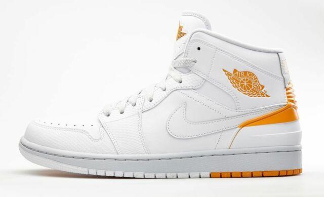 lowest discount shopping factory authentic Nike Jordan 1 Retro '86 White/Pure Platinum Men's Basketball Shoes Size 11.5