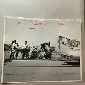1987 Okawville Illinois Tragic Car Accident Press Photo