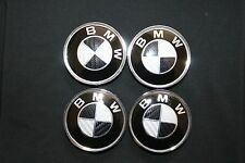 00 01 02 03 04 05 06 BMW X5 E53 SUV BLACK CARBON WHEEL CAPS EMBLEM LOGO BADGE US