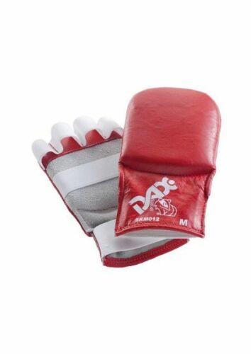 Ju-Jutsu // Jiu-Jitsu Handschuhe DAX Kumite Gloves Leder rot