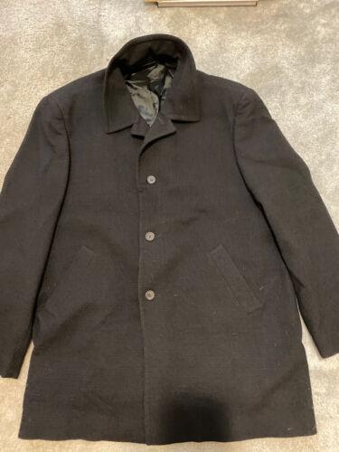Gianni Versace Men's Overcoat Fall/Winter Vintage